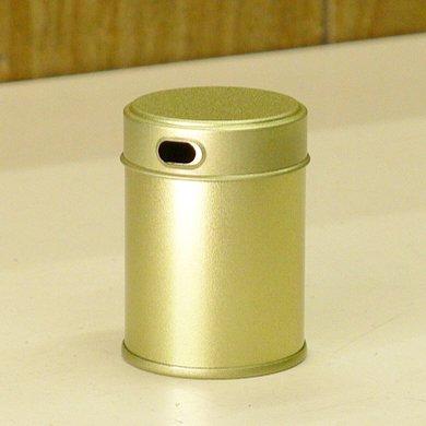 七味缶 φ39.5×H53 金サテン (250缶)【画像2】