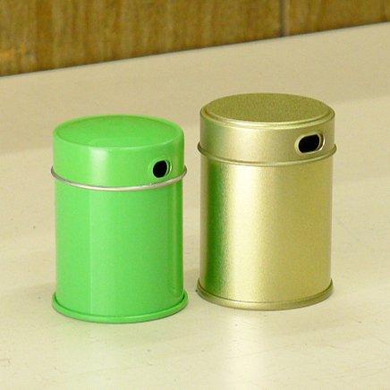 七味缶 φ39.5×H53 金サテン (250缶)【画像4】