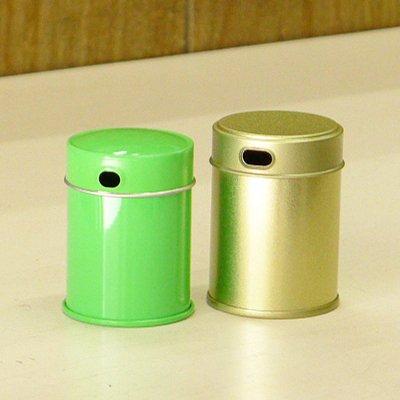 七味缶 φ39.5×H53 金サテン (250缶)【画像5】