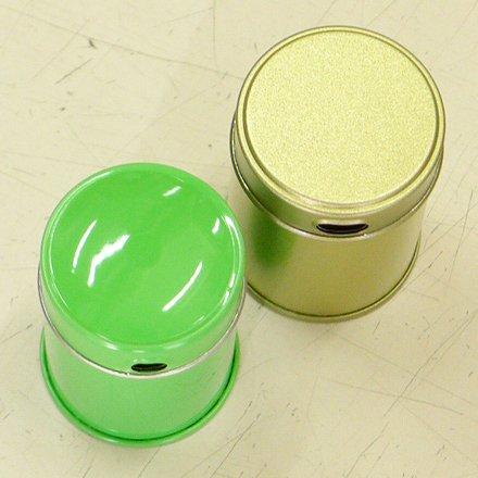 七味缶 φ39.5×H53 金サテン (250缶)【画像7】