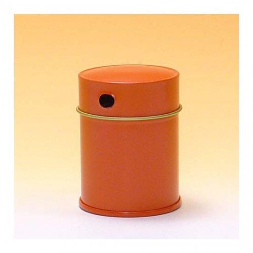 七味缶 φ43×H60 朱 (250缶)