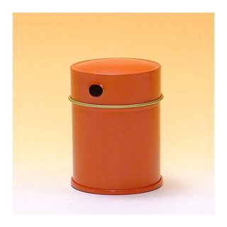 七味缶 七味缶 φ43×H60 朱 (250缶)