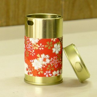 七味缶 七味缶胴和紙