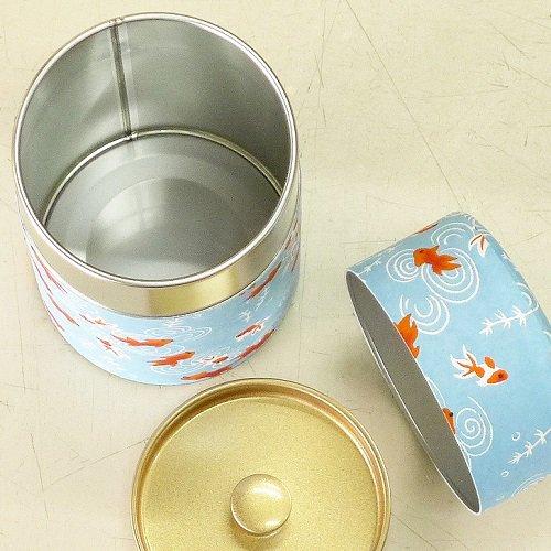 和紙茶缶 金魚(ミズイロ)【画像6】
