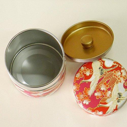 和紙茶缶 光鶴(アカ)【画像3】