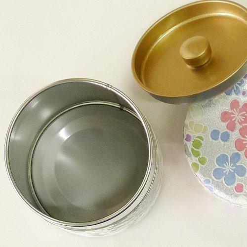 和紙茶缶 銀梅【画像5】