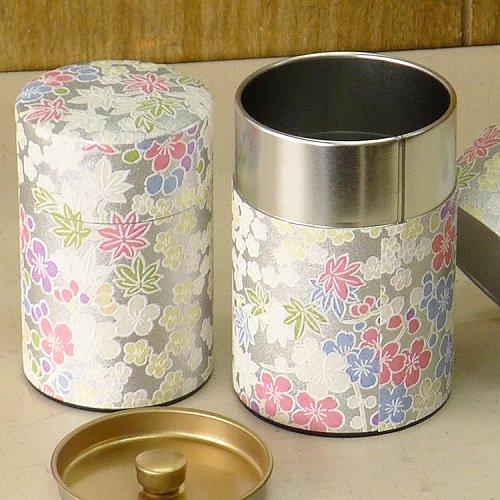 和紙茶缶 銀梅【画像6】
