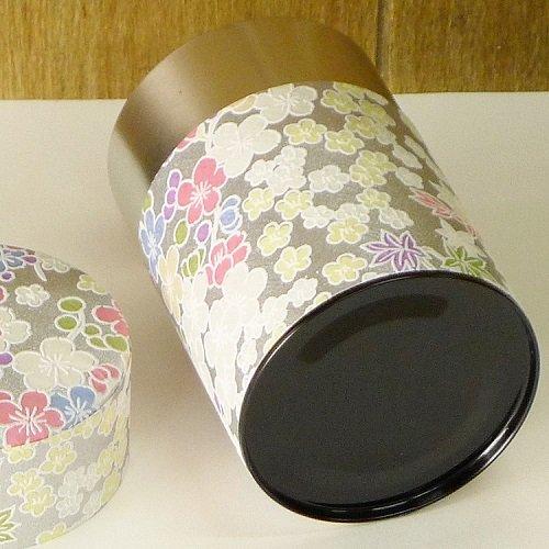 和紙茶缶 銀梅【画像7】