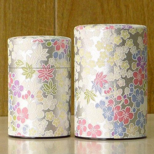 和紙茶缶 銀梅【画像8】