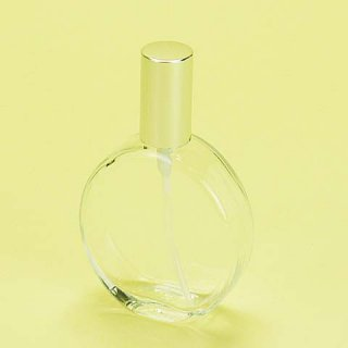 ガラス瓶 香水スプレー 平丸25cc