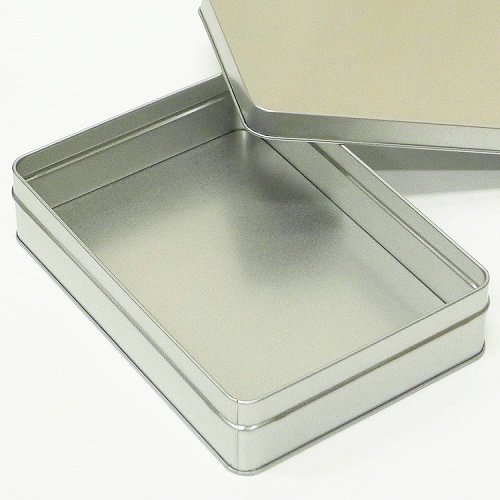 銀サテン材 角缶 (長方形_大)【画像2】