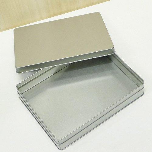 銀サテン材 角缶 (長方形_大)【画像4】