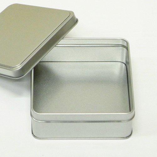 銀サテン材 角缶 (正方形)【画像4】
