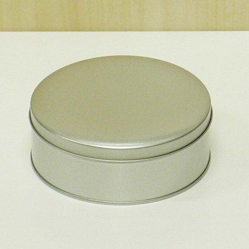銀サテン材 平丸缶【画像2】