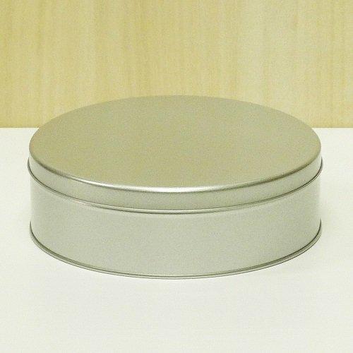 銀サテン材 平丸缶【画像3】