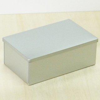 角缶 銀サテン材 組上缶(K2)