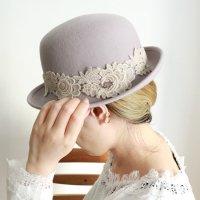 クラシカルフェルト帽