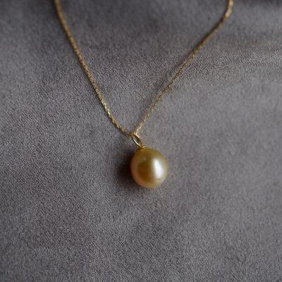 ゴールデンパールネックレス South Sea Pearl necklace