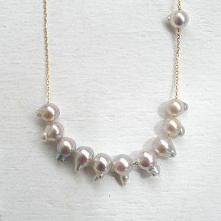 アコヤパール スタッズネックレス Studs Pearl necklace