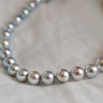 アコヤバロックパールネックレス Akoya baroque necklace