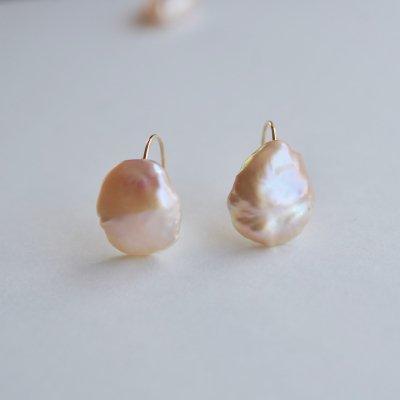 パールピアス _Creo sakura pearl hook pierce