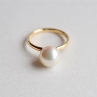 アコヤパール バロックリング Akoya Pearl baroque  ring