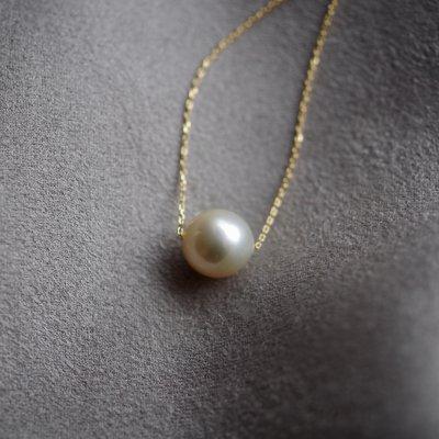 ゴールデンパールネックレス South Sea Pearl necklace  t02