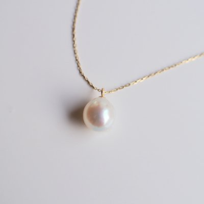 アコヤバロックパールネックレス Akoya Pearl Natural baroque necklace