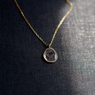 スライスダイヤモンドネックレス Slice Diamond  necklace K18_na