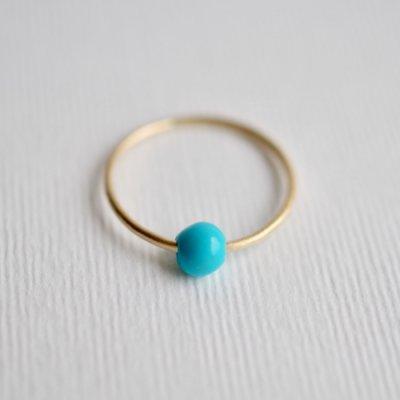 ターコイズ リング  Moving Ring  Turquoise