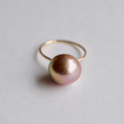 ルベルパールリング メタル Ruber Pearl ring as14