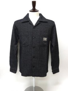 HOUNDSTOOTH-LONG SLEEVE SHIRTS