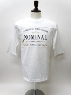 GLAD HAND×NOMINAL[別注] Special Logo Football T-Shirts