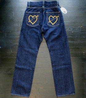 M.L STRAIGHT PANTS - Arrow Heart[ONE WASH]