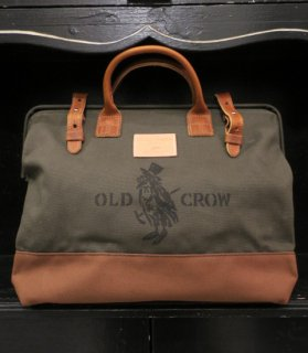 CROW MASON - BAG [OLIVE×BROWN-M]