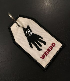 WEIRDO - TAG KEY FOB [C]