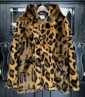 RIZE ABOVE - FUR HOODIE