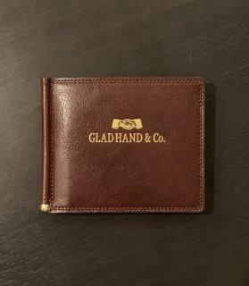 [GLAD HAND × SPEAKEASY] MONEY CLIP WALLET