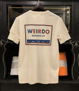 WEIRDO CAN - S/S HENRY NECK T-SHIRTS
