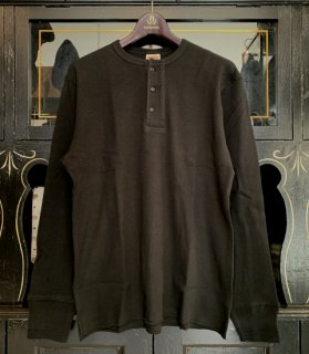 STANDARD WAFFLE HENRY L/S T-SHIRTS - GH-28