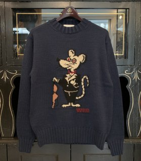 CLASSIC RAT - CREW NECK SWEATER
