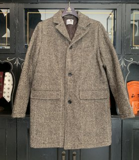 <img class='new_mark_img1' src='https://img.shop-pro.jp/img/new/icons14.gif' style='border:none;display:inline;margin:0px;padding:0px;width:auto;' />SHARPER - HERRINGBONE CHESTER COAT