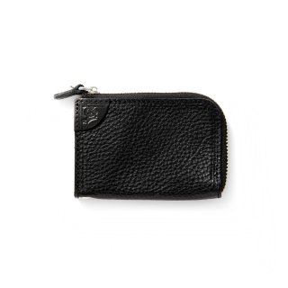 Logo embossing leather zip multi case - 21SS008L&A-L