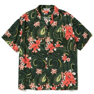<img class='new_mark_img1' src='https://img.shop-pro.jp/img/new/icons14.gif' style='border:none;display:inline;margin:0px;padding:0px;width:auto;' />Paisley pattern aloha S/S shirt - 21SS080