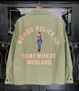 <img class='new_mark_img1' src='https://img.shop-pro.jp/img/new/icons14.gif' style='border:none;display:inline;margin:0px;padding:0px;width:auto;' />POLICE SQ - L/S WORK SHIRTS