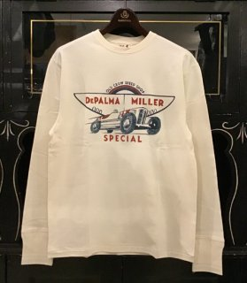 <img class='new_mark_img1' src='https://img.shop-pro.jp/img/new/icons14.gif' style='border:none;display:inline;margin:0px;padding:0px;width:auto;' />DePALMA MILLER SPECIAL - L/S T-SHIRTS