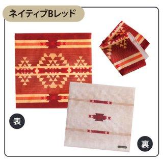 Native american patterns ネイティブ Bレッド タオルハンカチ(スマホクリーナー)【両面プリント/日本製】