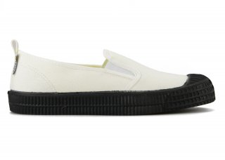 SLIP-ON COLOR SOLE 10WHITE / BLACK