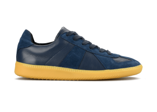 GERMAN TRAINER NAVY/TRANSPARENT<img class='new_mark_img2' src='https://img.shop-pro.jp/img/new/icons59.gif' style='border:none;display:inline;margin:0px;padding:0px;width:auto;' />