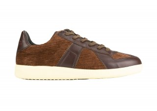 GERMAN TRAINER CORDUROY BROWN